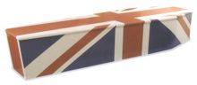 Colourful Coffin - Union Flag