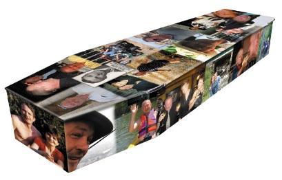 Colourful Photo Coffin
