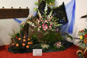 Flower Festival held at St John's Parish Church in Danbury